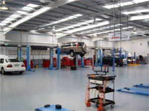 مشروع ورشة سيارات
