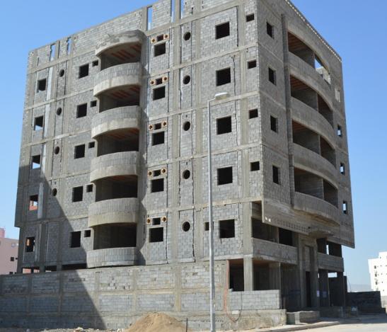 الشراكة لبناء عمارة سكنية بين اكثر من شخص وبأقل التكاليف