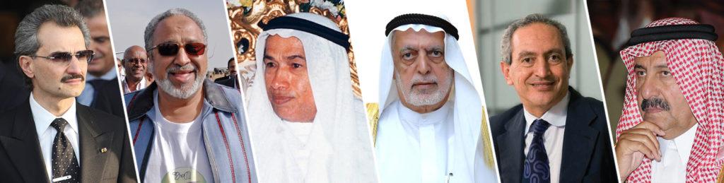 قائمة اغنياء العرب