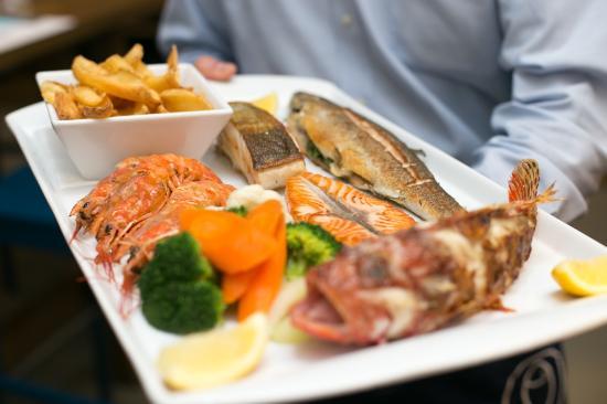 مشروع مطعم سمك