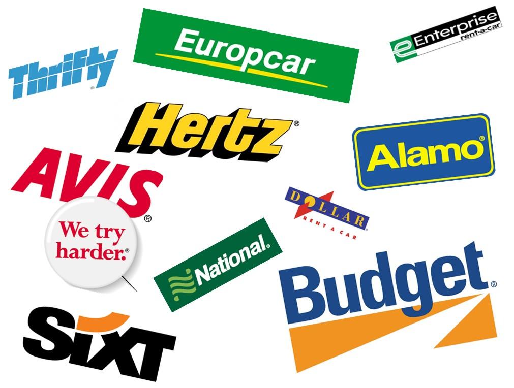 علامات تجارية لشركات تأجير سيارات