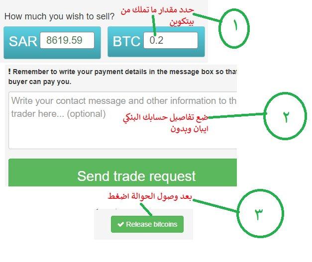 شرح طريقة بيع بيتكوين في موقع localbitcoins سحب بيتكوين إلى حسابك البنكي