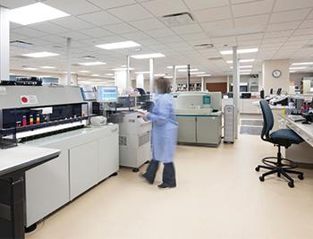 مشروع مختبرات طبيه الكنز الذي لا ينضب