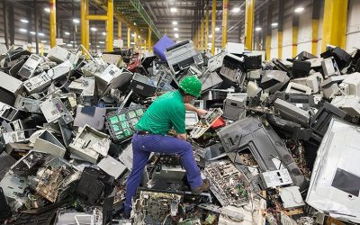 مشروع تدوير النفايات الالكترونية في البلدان العربية