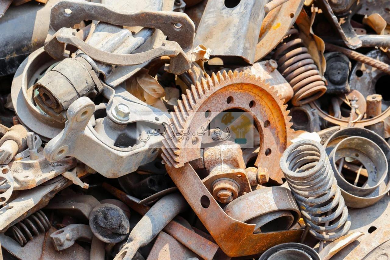 مشروع تجارة الخردة كيف تبدأ مشروع سكراب خرده الحديد والمعادن